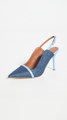 Malone Souliers 85mm Marion Slingback Pumps
