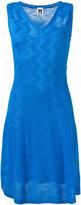 M Missoni sleeveless zig zag dress - women - Polyester/Viscose/Virgin Wool - 44