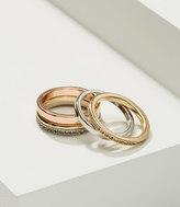 LOFT Pave Stackable Ring Set