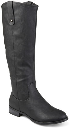 Journee Collection Taven Mid Calf Boot - Extra Wide Calf