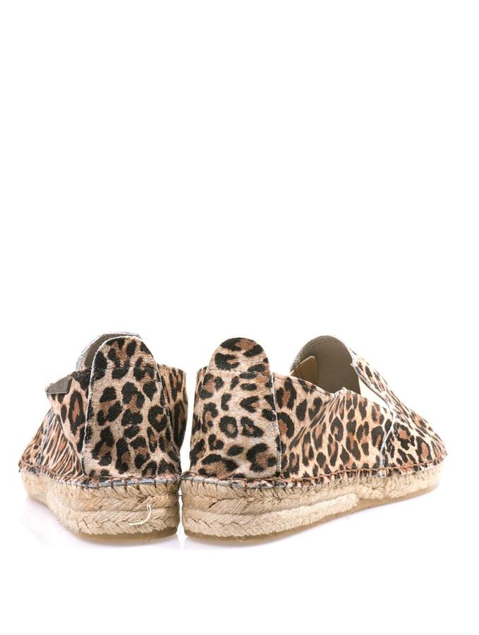Prism Leopard suede espadrilles