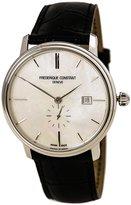 Frederique Constant 345MPW5S6 Men's Slimline Classic MOP Dial Black Strap Automatic Watch