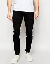 Pepe Heritage Pepe Jeans Powerflex Finsbury Superstretch Skinny Fit City Slick Black