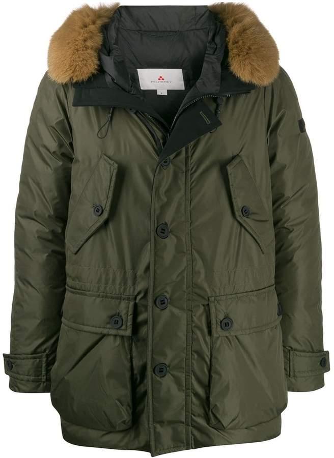 pretty nice 1358a 5c3cc hooded parka coat