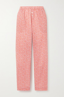 LOVE Stories Reese Printed Cotton-voile Pajama Pants