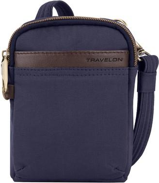 Travelon Anti-Theft Courier Mini Crossbody Bag