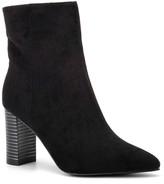 OLIVIA MILLER Vogue Chunky Heel Bootie