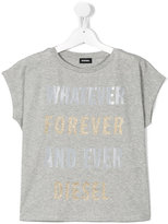 Diesel Whatever, Forever and Ever T-shirt - kids - Cotton - 6 yrs