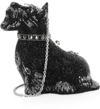 Judith Leiber Couture Scottie Dog Crystal Clutch