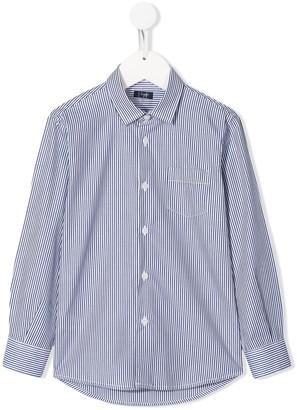 Il Gufo striped long sleeve shirt