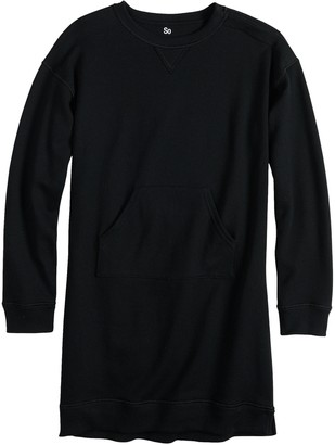 So Girls 7-16 SO Adaptive Sweatshirt Dress