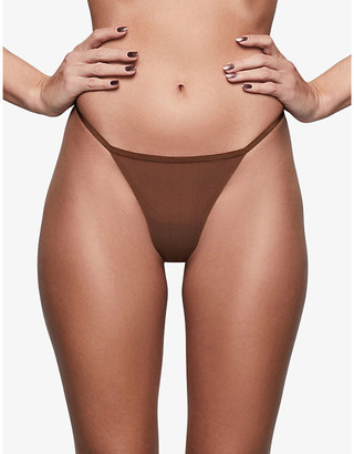 SKIMS Naked stretch-woven thong