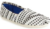 Toms 'Classic' Stitched Slip-On (Women)