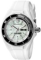 Technomarine Women's TM-115123 Cruise Sport Analog Display Swiss Quartz White Watch by
