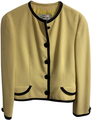 Genny Yellow Wool Jacket for Women