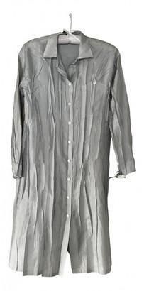 Issey Miyake Grey Polyester Dresses
