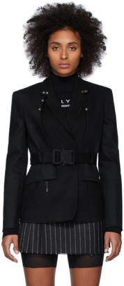 Alyx Black Wool Double-UP Blazer