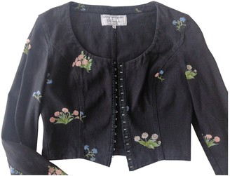 Anna Molinari Black Denim - Jeans Jacket for Women