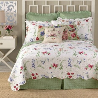 August Grove Elencourt Quilted Cotton Decorative Pillow