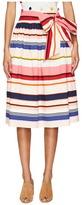 Kate Spade Spice Things Up Berber Stripe Midi Skirt