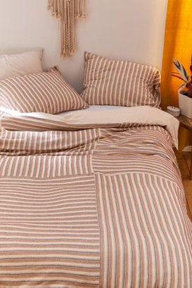 Urban Outfitters Chevron Twist Jersey Duvet Cover