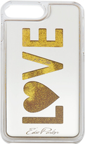 Edie Parker Gold Floating Love iPhone 6 or 7 Plus Case