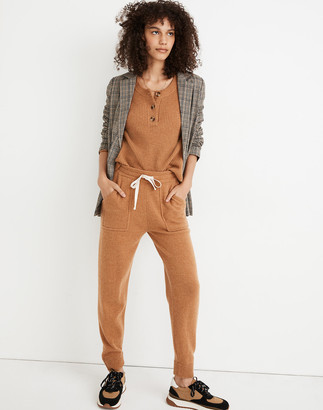 Madewell (Re)sourced Cashmere Jogger Sweatpants