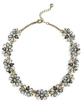 BaubleBar Women's Alouette Crystal Collar Necklace