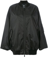 Marcelo Burlon County of Milan printed oversized bomber jacket - women - Polyamide/Polyurethane - XS