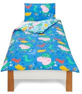 Peppa Pig George Roarsome Duvet Cover - Single