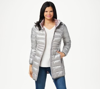 Nuage Quilted Packable Jacket with Removable Hood
