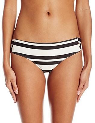 RVCA Women's Stripe Out Full Bikini Bottom