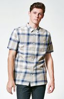Modern Amusement Archid Plaid Short Sleeve Button Up Shirt