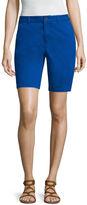 A.N.A a.n.a Modern Fit Twill Bermuda Shorts