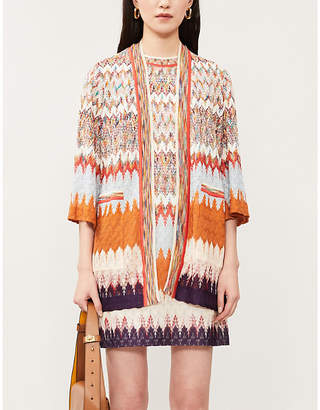 Missoni Graphic knitted cardigan