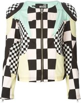 Love Moschino patchwork jacket