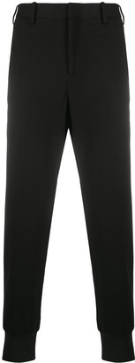 Neil Barrett Elasticated-Ankle Tapered Trousers