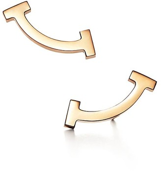 Tiffany & Co. T smile earrings in 18k gold