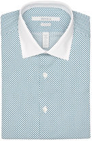 Perry Ellis Ultra Slim Small Dot Dress Shirt