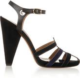 Sonia Rykiel Elaphe and leather sandals