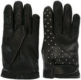 Les Hommes studded gloves