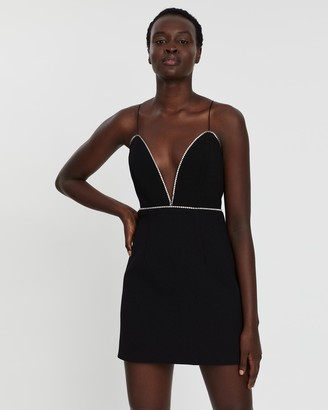 Michael Lo Sordo Embellished Mini Dress