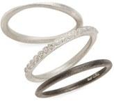 Armenta Set of Three Stacking Rings