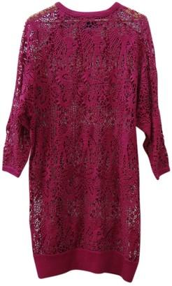 Isabel Marant Burgundy Lace Dresses