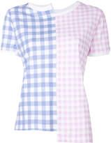 Loewe gingham T-shirt