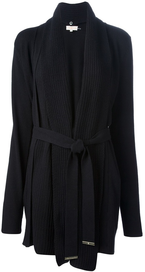 Tory Burch belted draped cardigan