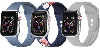 Posh Tech Multi Apple Watch Replacement Band - Set of 3