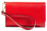 Nordstrom Women's Trifold Leather Wallet - Red