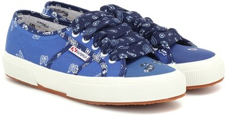 Alanui x SUPERGA printed sneakers