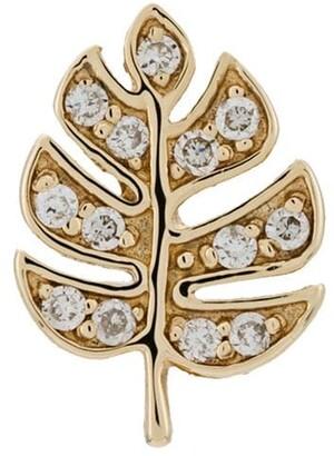 Sydney Evan 14kt Yellow Gold Palm Diamond Earring